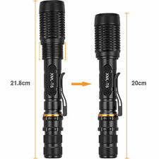 Zoomable Flashlight Torch, BY PROCAMP, ULTRA BRIGHT XM-L T6 LED,12000Lum
