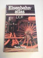 DDR Eisenbahnatlas Reichsbahn 1987 Nostalgie Bilder Dampflok