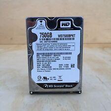 """Western Digital Black 750GB Internal 7200RPM 2.5"""" (WD7500BPKX) HDD"""