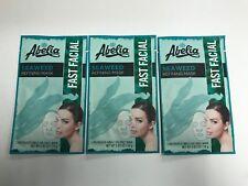 (3) AbeIia SEAWEED Refining Korean Face Mask - Refine- Hydrate & Rejuvenate