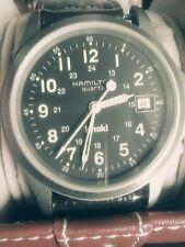HAMILTON KHAKI FIELD MILITARY 9821C QUARTZ SWISS MAN'S WATCH,  GREAT CONDITION