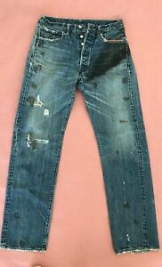 Levi's 66501 Made in Japan 501XX Vintage Reprint from Japan Waist 34 x 31