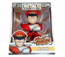 "JADA 4"" METALS STREET FIGHTER M. BISON M307 DIECAST ACTION FIGURE 98063"