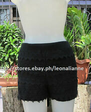 50% OFF! AUTH FOREVER 21 SOFT LACE BLACK SHORTS EXTRA SMALL BNEW SRP US$ 15.90+