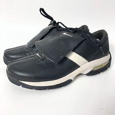 NIKE Sport Performance Softspike Kiltie Flap Tassel Golf Shoes Black Women's 9