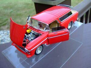 Danbury Mint 1/24th Scale 1955 Chevy Nomad Street Machine-VERY VERY NICE-