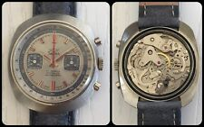 SABINA WATCH-vintage mechanical manual Chronograph-cal.Valjoux 7733-anni'70-Rare