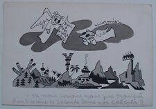 RARE ! Excellent DESSIN Original humoristique XX° **  signé H.MONIER (1901-1959)