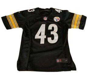Nike On Field Pittsburgh Steelers Troy Polamalu #43 NFL Women's Jersey Size Med.