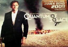QUANTUM of SOLACE(2008)DVD+Exclusive James Bond Collectible Calendar Set SEALED
