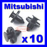 MITSUBISHI BUMPER SPLASHGUARD INNER WHEEL ARCH LINING WING LINER TRIM CLIPS 8mm