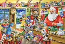 House of Puzzles-Puzzle 500 PEZZI-Laboratorio di Babbo Natale collezionisti N. 5