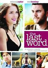 The Last Word - DVD - VERY GOOD - Winona Ryder - FREE SHIPPING