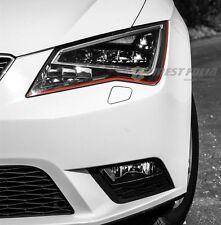 Devil Eye® Scheinwerfer Folie Stripe für Seat Leon SC ST FR Cupra 5F 6J RS Style