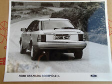 Ford Granada Scorpio 4x4 Press Photo c1985 no 2
