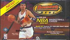 1998-99 98-99 BOWMAN'S BEST NBA HOBBY BOX: VINCE CARTER/DIRK NOWITZKI/PIERCE RC