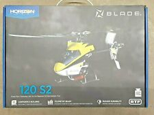 Blade 120 S2 Fixed Pitch Trainer RTF Electric Micro Helicopter BLH1100 Brand New