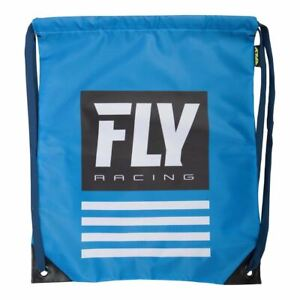 Fly Racing Sport Swimming Laundry Drawstring Bag (Blue)