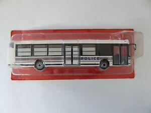 Bus IRISBUS AGORA S POLICE - 1/43 Hachette IXO Autobus autocars du Monde 77