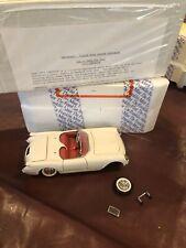 1/24 Franklin Mint 1953 '53 Chevy Corvette Roadster Convertible White