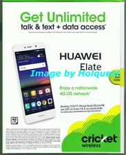 Cricket Wireless Huawei Elate Smartphone New Sealed