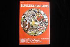 Bergmann Bundesliga 84/85 komplettes Set Leeralbum + Bildersatz