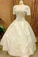 STUNNING MOONLIGHT SILK BALLGOWN WEDDING DRESS RENAISSANCE FAIRE SIZE 6