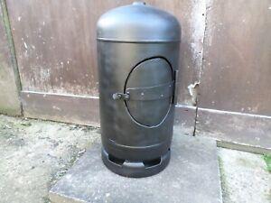 Upcycled Large 19kg Gas Bottle Log Burner/Chimenea/FirePit/Patio Heater/Brazier