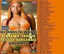 OLD SKOOL REGGAE 90s  DANCEHALL MIX CD VOLUME 7