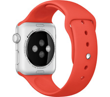 Apple Montre 42mm 7000 Série Aluminium Argent Bracelet Sport Orange