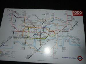 1000 piece 'London Underground Map Jigsaw Puzzle.