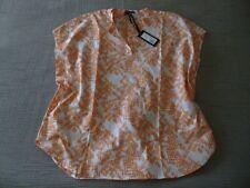 "NWT OSKA ""Venara"" Abstract Print/Textured Cotton Top - size 3 14/16UK RRP£179.00"