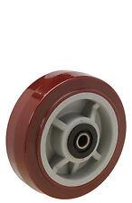 "Polyurethane Wheel: 8"" Diameter x 2"" Wide. Uboat Center Wheel. Roller Bearing."