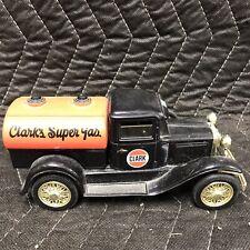 1930's Model A Tanker CLARK's Super Gas Die Cast Metal Bank limited edition
