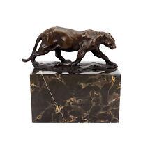 Panther im Laufen (1904) - signiert Bugatti - Tierfigur aus Bronze