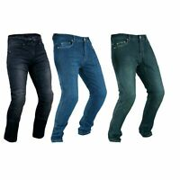 Herren-Damen Motorrad Jeans Hose mit Protektoren Motorrad Textil Aramid Hose