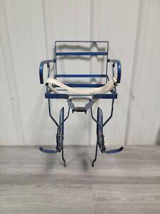 Vintage Schwinn Japan Kids Bicycle Seat Child Carrier Bike Seat No Pads Rear