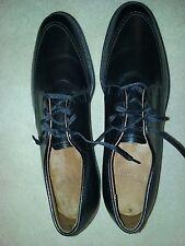 E.T. Wright brand new men's black pebble leather black oxfords 11 3A NIB