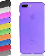 TRANSPARENT SLIM ULTRA THIN 0.5MM CLEAR COVER BACK CASE FOR IPHONE 8+ 7 PLUS