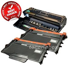 1x DR820 Drum & 2x TN850 Black Toner Set for Brother TN820 HL-L5000D MFC-L5900DW