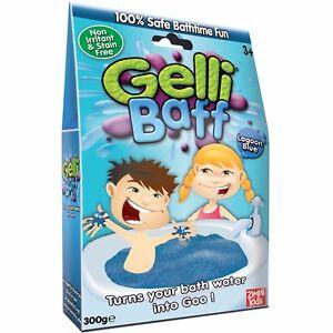 GELLI BAFF SLIME SMELLI COLOR CHANGE PLAY TURN WATER INTO GOO BATH KIDS NEW