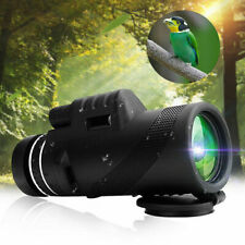 40X60 Zoom Optical HD Lens Monocular Telescope + Tripod + Clip For Cell Phones