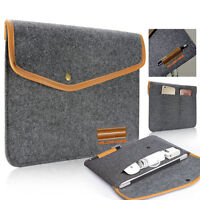 Felt Sleeve Laptop Case Cover Bag for Microsoft Surface Pro 3 / 4 with Keyboard