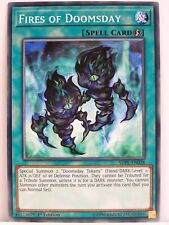 Yugioh - 2x #028 Fires of Doomsday - SDPL - Powercode Link Structure Deck