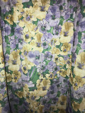 Lularoe Maxi Long Skirt Lilac Purple and Gold Yellow Floral Plus Size 3XL NEW
