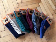Naturel Pure Merino Wool Mix Color Women Winter Socks- 8 Pairs Pack *Warmly*