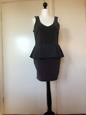 river island Sparkly Black Party Mini Dress Size 16 Brand New With Tags