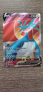 Salamence V - 185/189 - Full Art Ultra Rare Pokemon SS03 Darkness Ablaze M/NM