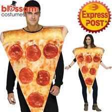 Ca523 Pizza Slice Fancy Dress Food Funny Novelty Mens Womens Stag Hens Costume One Size 5495B