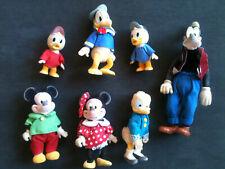 Anciennes Figurines feutrine Mickey minnie....